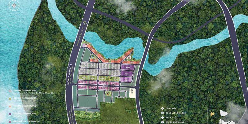 Mặt bằng Aqua City khu Rivera Park