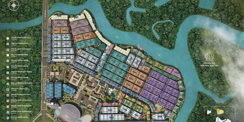Aqua City mặt bằng Valencia