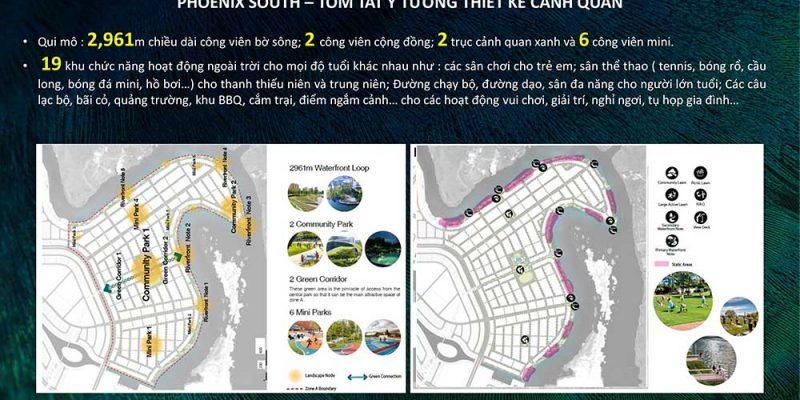MẶT BẰNG ĐẢO PHƯỢNG HOÀNG AQUA CITY PHOENIX SOUTH