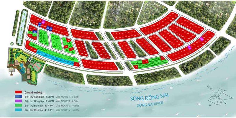 Mặt bằng zone 5 swanbay