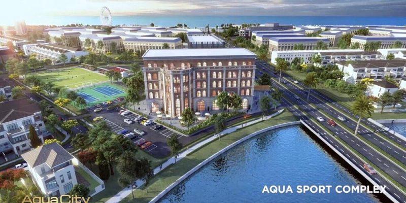 TIỆN ÍCH NỘI KHU AQUA CITY AQUA SPORT COMPLEX