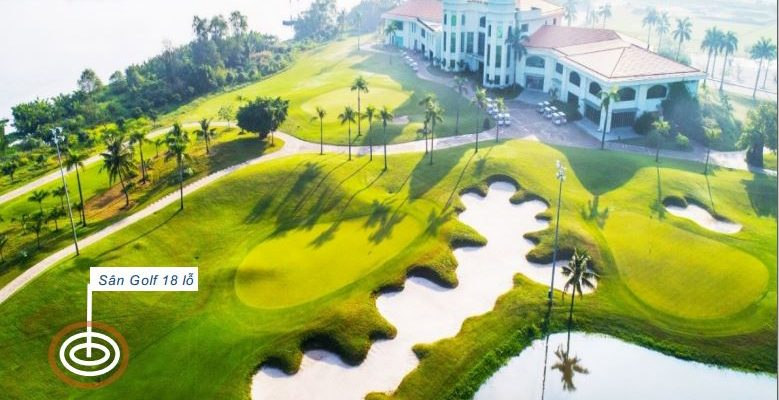 Tiện ích 5 Sân golf 18 lỗ