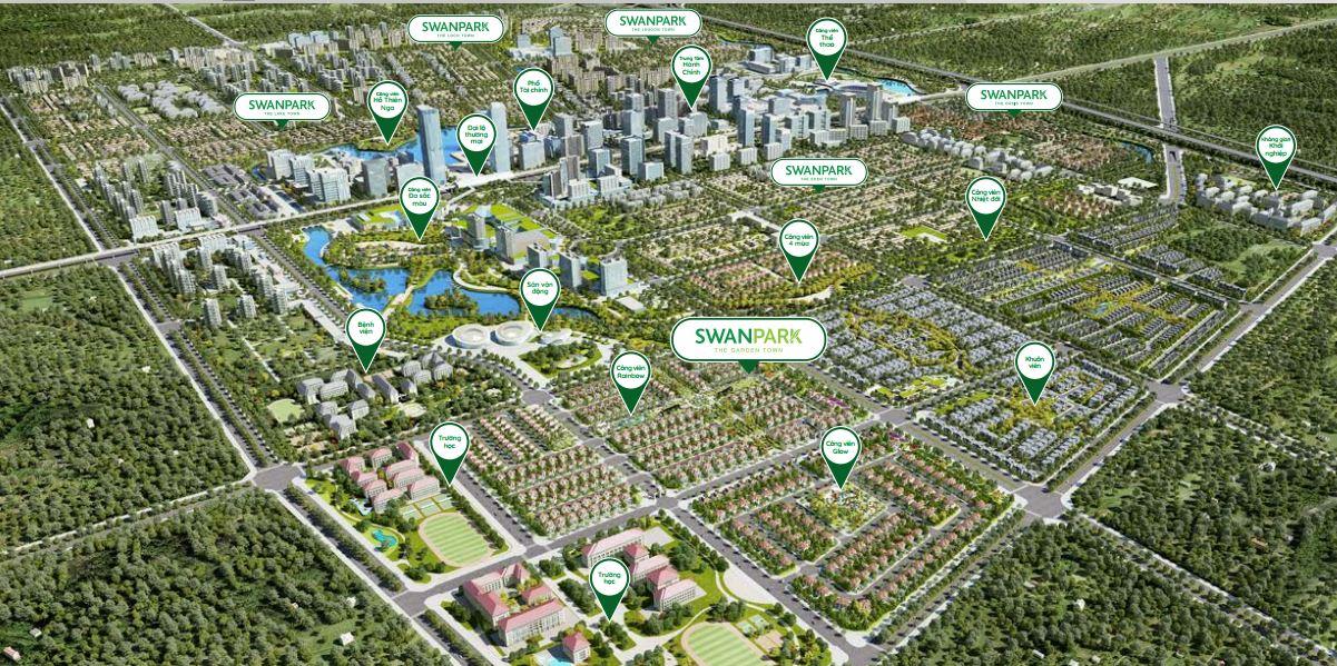 Swanpark tổng quan chi tiết dự án