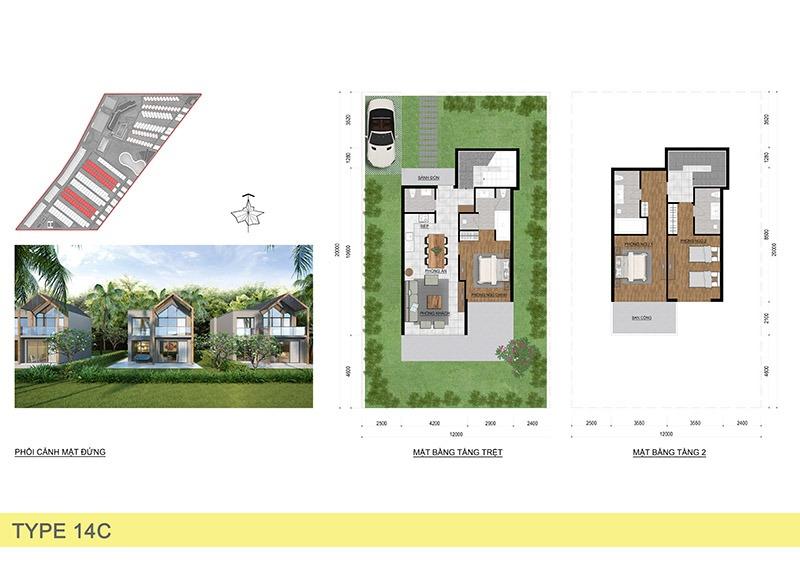 BTĐL Beach Villa 12X20