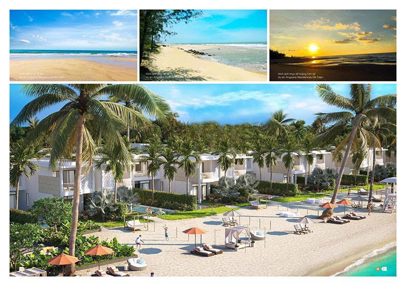 ANGSANA HỒ TRÀM beachfont mặt biển